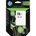 HP C6578AN No. 78 High Yield Tri-Color Print Cartridge, 970 Pages