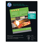 HP Brochure and Flyer Paper, Glossy, 8 1/2 x 11, 50 Sheets/Box