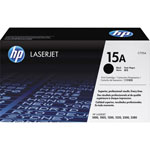 HP 15A Black Toner Cartridge, Model C7115A, Page Yield 2500