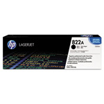 HP 822A Black Toner Cartridge, Model C8550A, Page Yield 25000