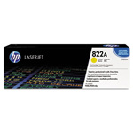HP 822A Yellow Toner Cartridge, Model C8552A, Page Yield 25000