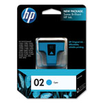 HP 2 Cyan Ink Cartridge ,Model C8771WN ,Page Yield 400