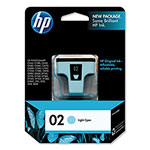 HP 2 Cyan Ink Cartridge ,Model C8774WN ,Page Yield 220