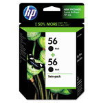 HP 56A Black Inkjet Cartridge, Model C9319FN, 450PGS Page Yield