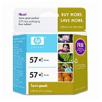 HP C9320FN No. 57A Tri-Color Ink CartridTwin-Pack, 400 Pages