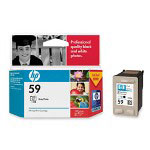 HP 59 Gray Ink Cartridge ,Model C9359AN ,Page Yield 100