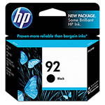 HP C9362WN No. 92 Black Print Cartridge, 220 Pages