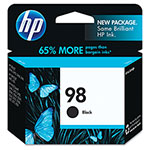 HP 98 Black Inkjet Cartridge, Model C9364WN, 420PGS Page Yield