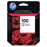 HP 100 Gray Ink Cartridge ,Model C9368AN ,Page Yield 80