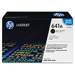HP 641A Black Toner Cartridge, Model C9720A, Page Yield 9000