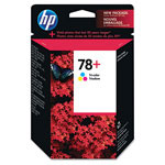 HP 78 Cyan/Magenta/Yellow Ink Cartridge ,Model CB277AN ,Page Yield 560