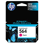 HP 564 Magenta Ink Cartridge ,Model CB319WN ,Page Yield 1000