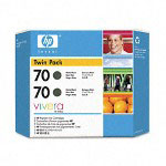 HP 70 Black Ink Cartridge ,Model CB339A ,Page Yield 1000