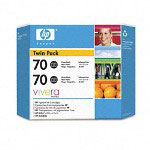 HP 70 Black Ink Cartridge ,Model CB340A ,Page Yield 2200