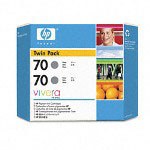 HP 70 Gray Ink Cartridge ,Model CB341A ,Page Yield 6000