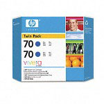 HP 70 Blue Ink Cartridge ,Model CB349A ,Page Yield 8500