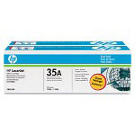 HP C1895A Black Toner Cartridge ,Model CB435AD004 ,Page Yield 210