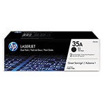 HP 35A Black Laser Toner, Model CB435D