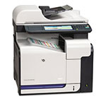 HP CM3530FS Network Ready All in One Laser Printer (Copier/Printer/Scanner/Fax)