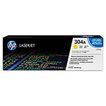 HP 304A Yellow Toner Cartridge, Model CC532A, Page Yield 2800