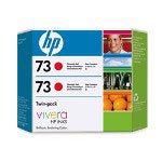 HP 73 Red Ink Cartridge ,Model CD952A ,Page Yield 350