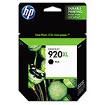 HP 920XL Black Ink Cartridge ,Model CD975AN ,Page Yield 700