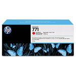 HP 771 Red Ink Cartridge ,Model CE038A ,Page Yield 6000