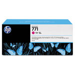 HP 771 Magenta Ink Cartridge ,Model CE039A ,Page Yield 6000