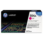 HP 504A Magenta Toner Cartridge, Model CE253A, Page Yield 7000