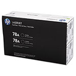 HP Toner Cartridge, 2100 Page Yield, Dual Pack, Black