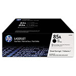 HP Toner Cartridge, 1600 Page Yield, Dual Pack, Black
