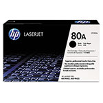 HP 80A Toner Cartridge, Black, 2700 Page Yield