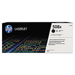 HP 508X (CF360X) High-Yield Black Original LaserJet Toner Cartridge