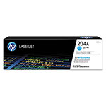 HP 204A, (CF511A) Cyan Original LaserJet Toner Cartridge