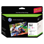 HP 564 Cyan/Magenta/Yellow Ink Cartridge, Model CG925AN, Page Yield 900