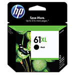 HP 61XL Black Ink Cartridge ,Model CH563WN ,Page Yield 480