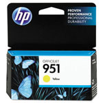 HP® CN052AN140 (951) Ink, 700 Page-Yield, Yellow