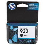 HP CN057AN140 (932) Ink, 400 Page-Yield, Black