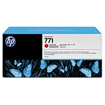 HP 771 Red Ink Cartridge ,Model CR251A ,Page Yield 3500