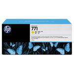 HP 771 Yellow Ink Cartridge ,Model CR253A ,Page Yield 6000