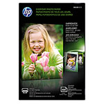 "HP Everyday Glossy Photo Paper, 53 lbs., 4"" x 6"", 100 Sheets per Pack"
