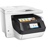 "HP 8730 All-In-1 Printer, 500Sht Cap, 15-1/2"" x 23-4/5"" x 23"", BKWE"