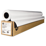"HP Wide-Format Matte Canvas Paper Roll, 60"" x 50 ft, 16 mil, White"