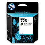 HP HP 728 (F9J64A) Matte Black Original Ink Cartridge, 69 mL