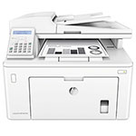 HP LaserJet Pro MFP M227fdn Multifunction Printer, Copy; Fax; Print; Scan