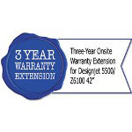 HP H5504E Three-Year Onsite Warranty Extension for Designjet 5500/Z6100 42""