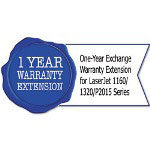HP H5738PE One-Year Exchange Warranty Extension for LaserJet 1160/1320/P2015 Series