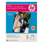 HP Premium Plus Photo Paper, High Gloss, 8 1/2 x 11, 50 Sheets/Pack