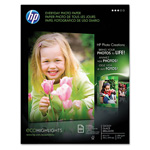 HP Everyday Photo Paper, Glossy, 8-1/2 x 11, 100 Sheets/Pack