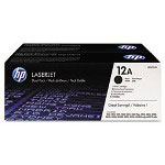 HP CC654AN Black Toner Cartridge ,Model Q2612AD004 ,Page Yield 420